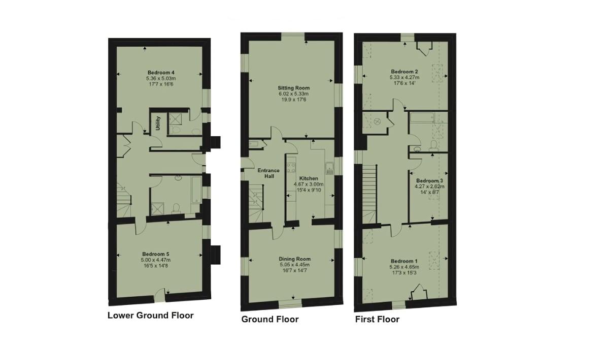 Martingale Floor Plan