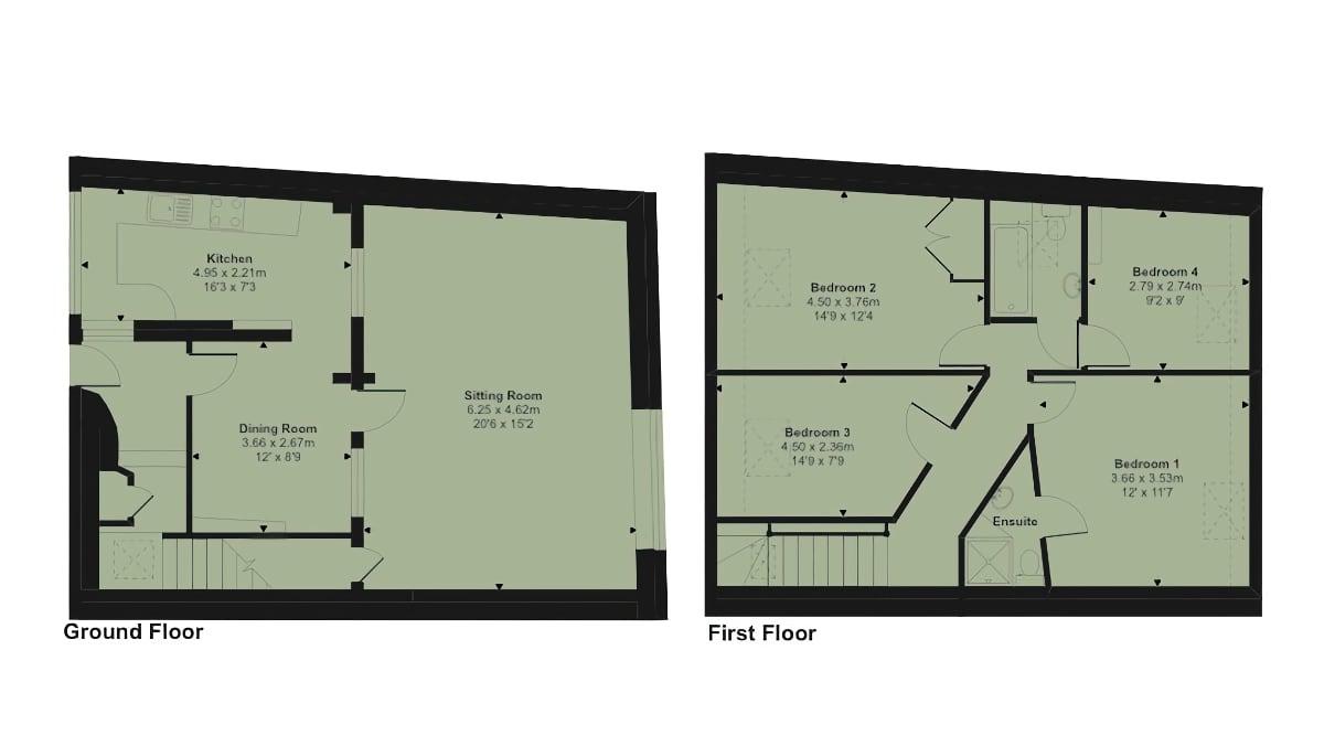 Snaffle Floor Plan